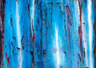 "Evaporating Wisps of Morning Love – Acrylic on Canvas, 30"" x 40"", 2006"